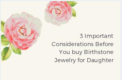Birthstone Jewelry for Daughter