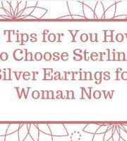 Silver Earrings for Woman Now