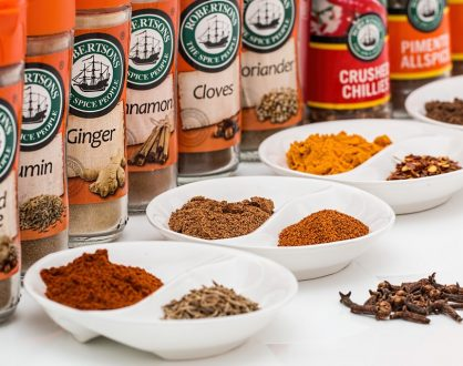 organic herbs and spices